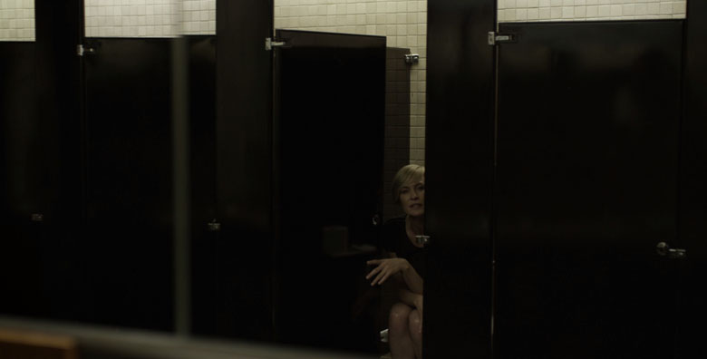 Robin Wright Toilet Pissing Bathroom Claire Underwood