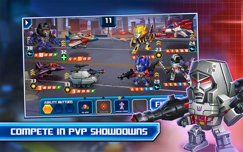Transformers Battle Tactics  Cheats