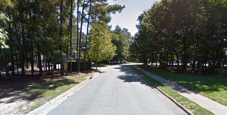 The 200 block of Summerwalk Circle where the shooting took place. (Google Street View)