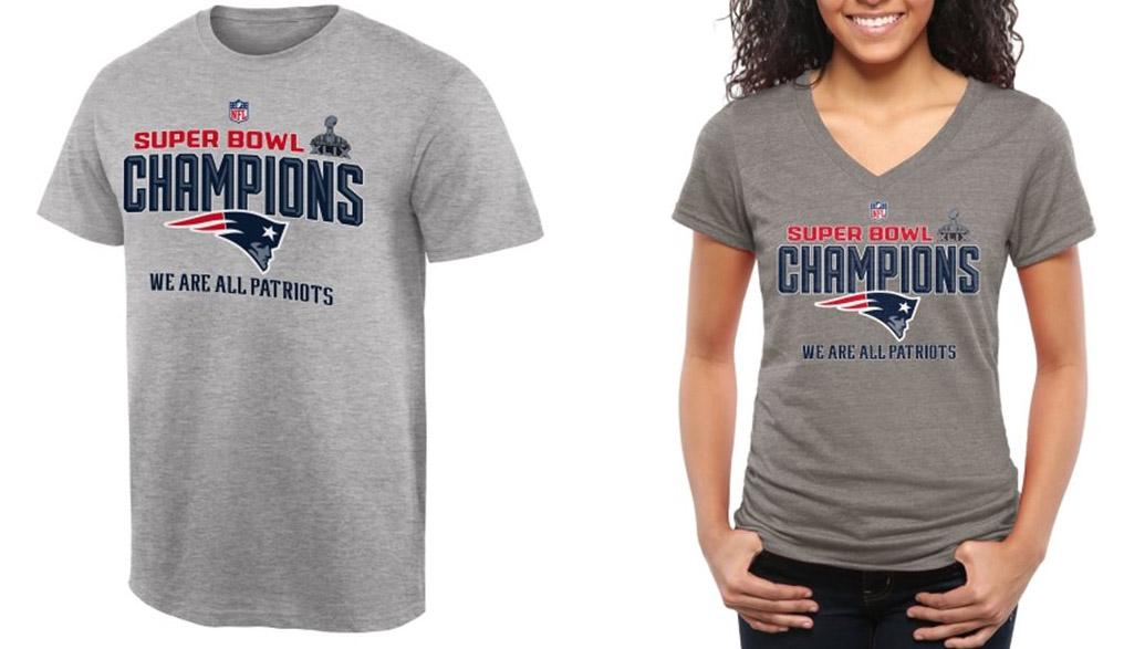 Patriots Super Bowl Champions Gear & Apparel 2015 | Heavy.com