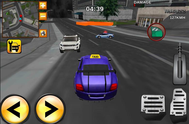Taxi Driver Mania 3D Racing