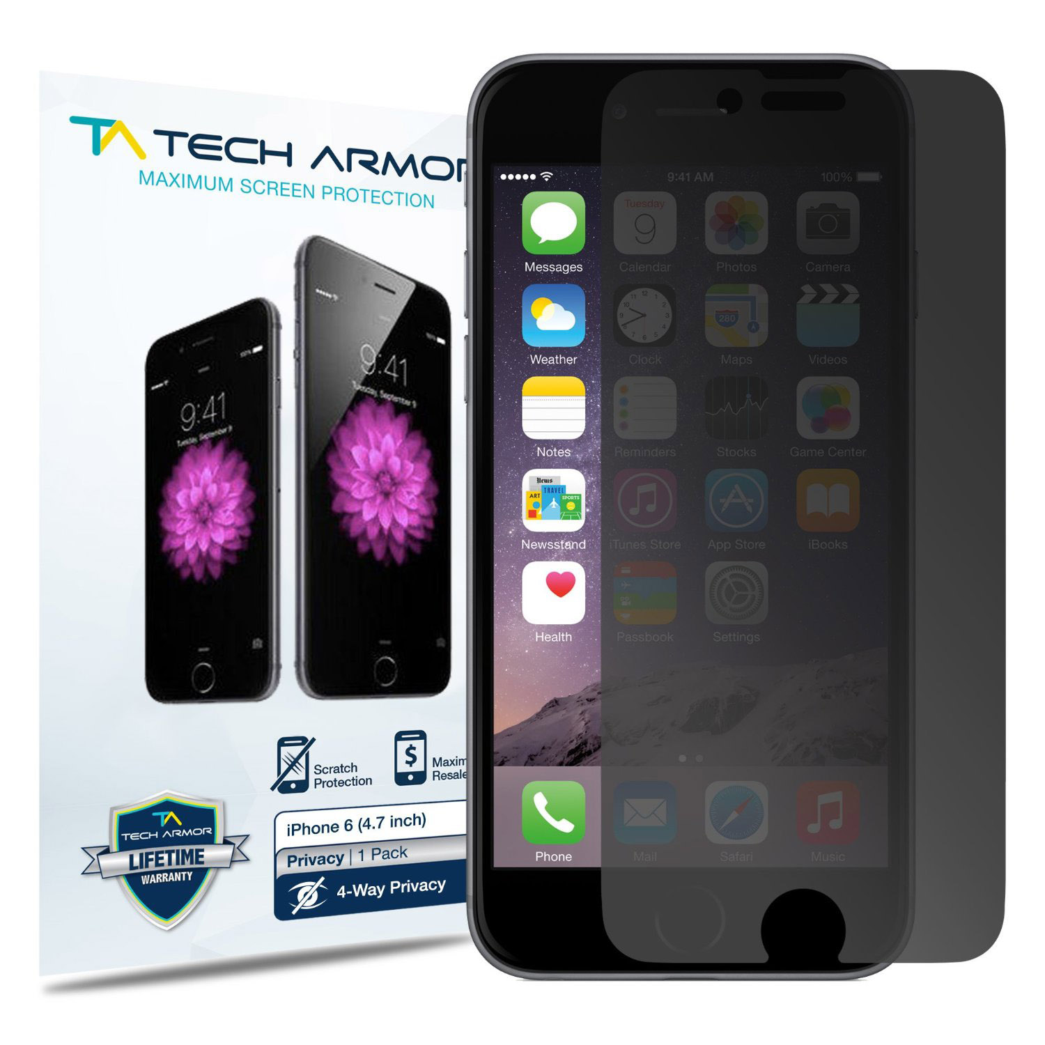 iphone 6 privacy screen protector