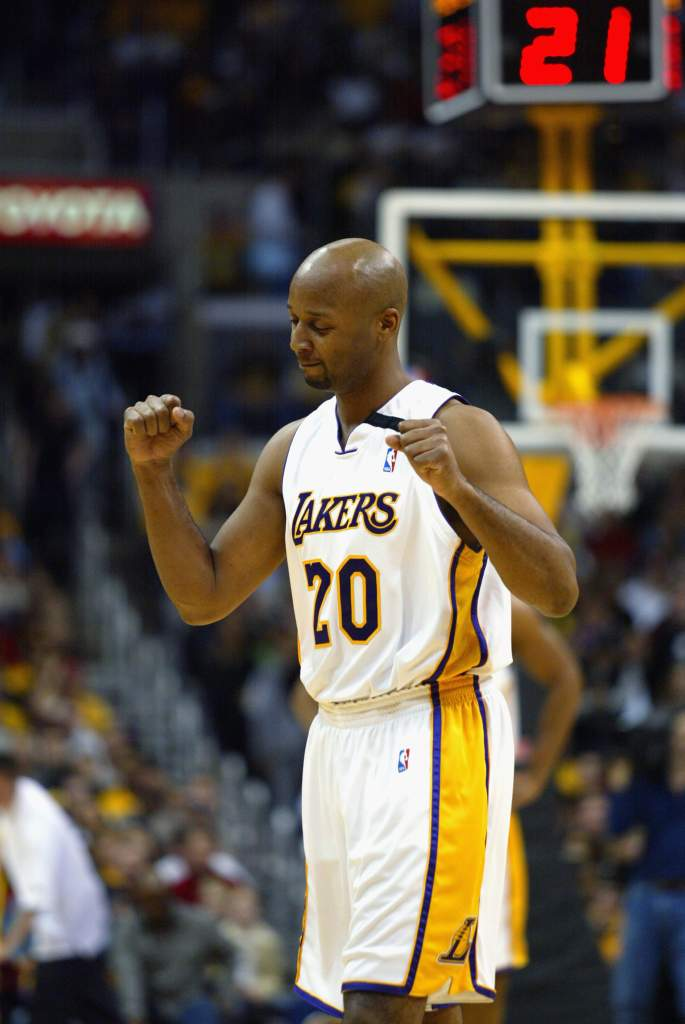 Brian Shaw won 3 NBA titles while playing with the Lakers. (Getty)