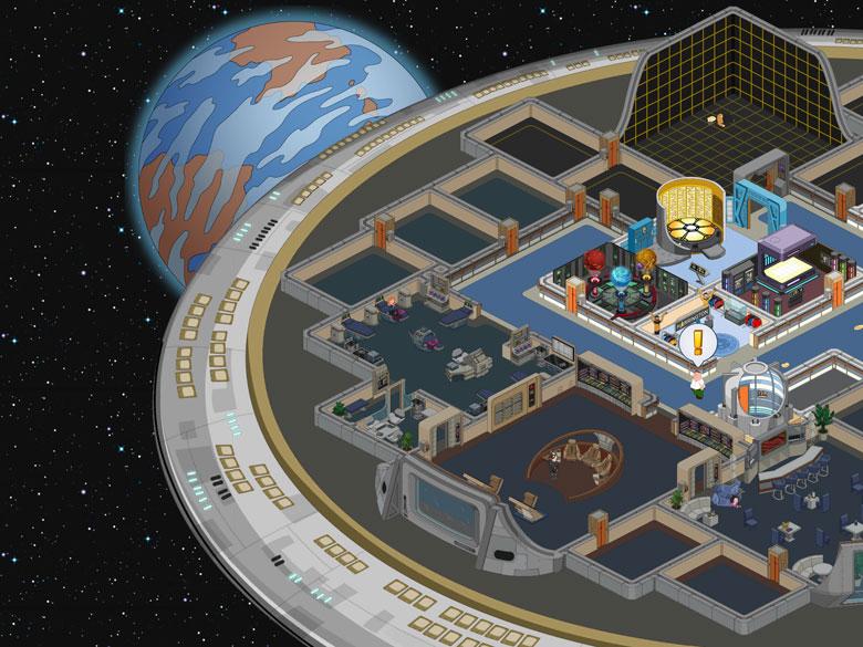 Family Guy The Quest for Stuff Star Trek Tips