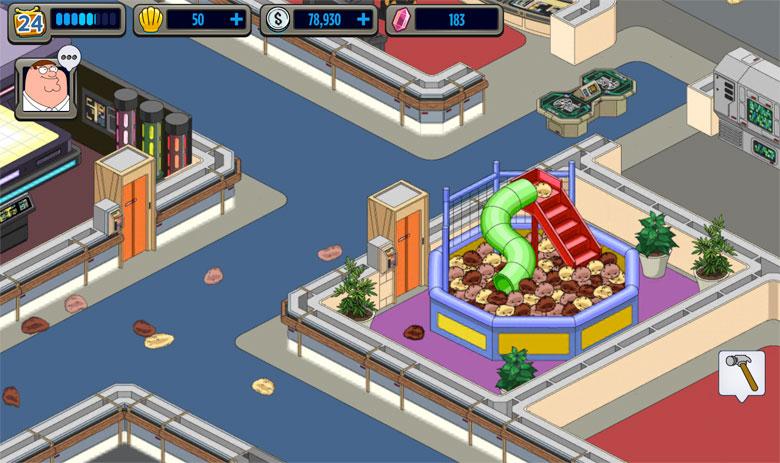 Family Guy The Quest for Stuff Star Trek Cheats