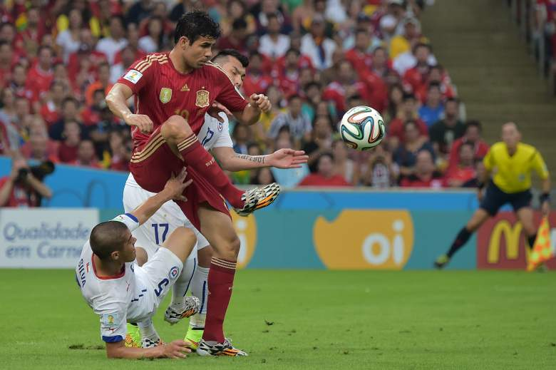 Diego Costa had a World Cup to forget for Spain as they crashed out in the group stage. (Getty)