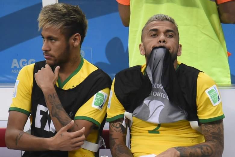 dani alves neymar, dani alves brazil
