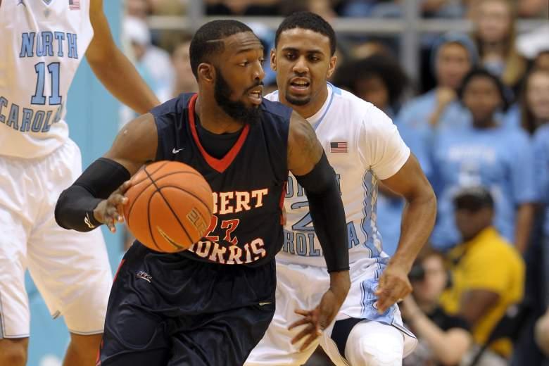 Lucky Jones leads Robert Morris to its first NCAA Tournament since 2010. (Getty)