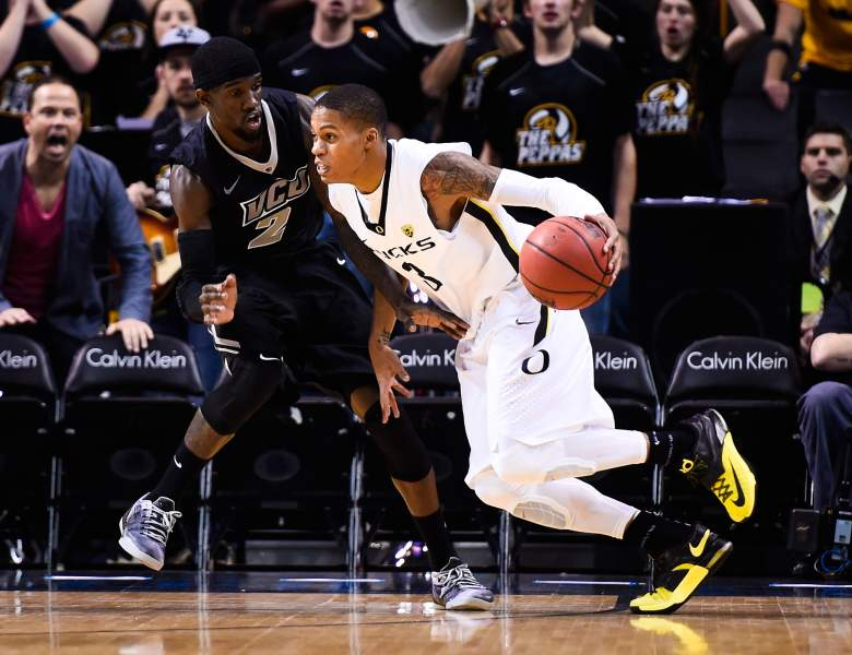 Oregon's Joseph Young averages 19.8 points per game. (Getty)