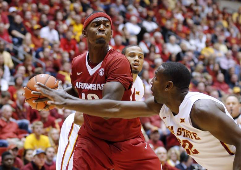 Bobby Portis leads Arkansas with 17.7 points per game. (Getty)