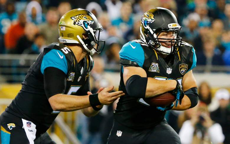 The Jacksonville Jaguars will have the most salary cap room heading into free agency. (Getty)