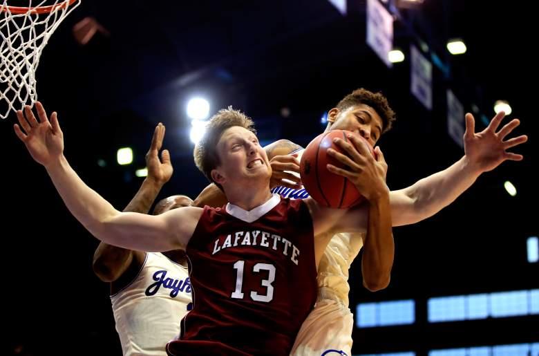 Matt Klinewski and the Lafayette Leopards are NCAA Tournament-bound. (Getty)