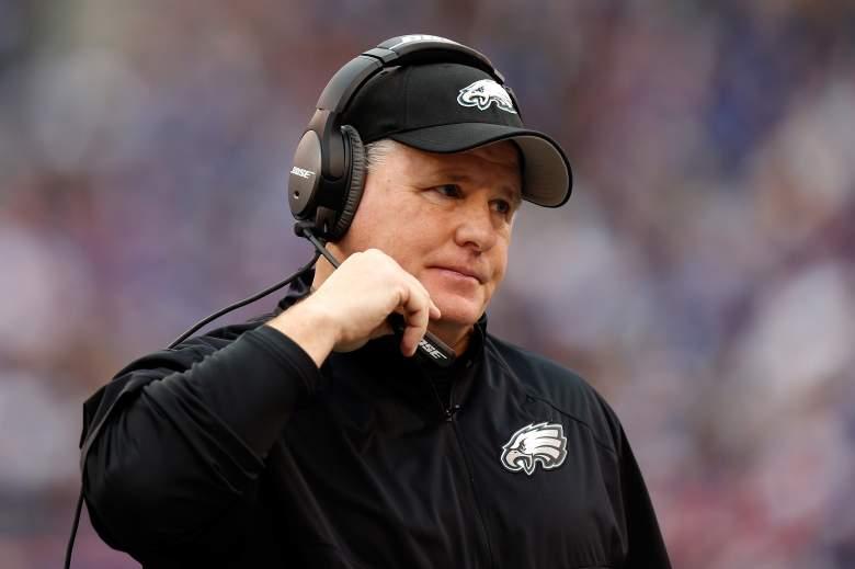 Philadelphia Eagles head coach Chip Kelly. (Getty)