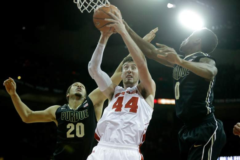 Frank Kaminsky and the Wisconsin Badgers are considered one of the favorites to make the Final Four. (Getty)