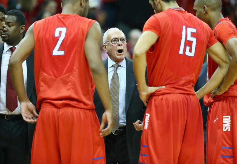 Larry Brown is the men's basketball head coach at Southern Methodist University. (Getty)