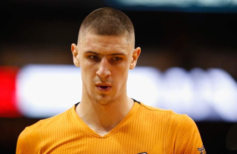 The Suns' Alex Len. (Getty)