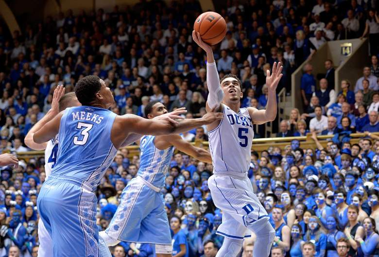 Tyus Jones and Duke are the No. 2 seed. (Getty)