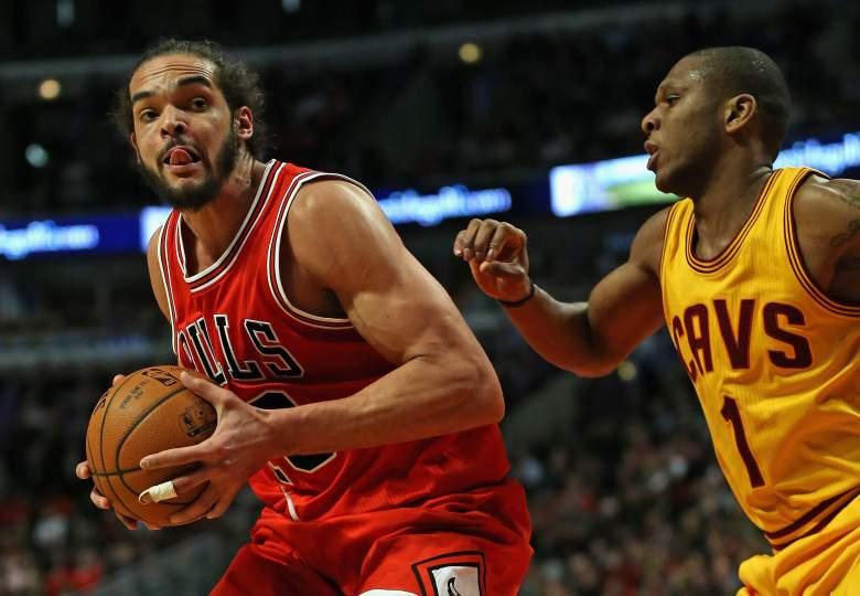 Joakim Noah and the short-handed Bulls host the Oklahoma City Thunder Thursday night. (Getty)