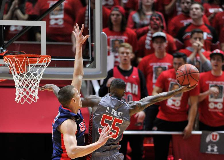 Delon Wright leads Utah in scoring and assists. (Getty)