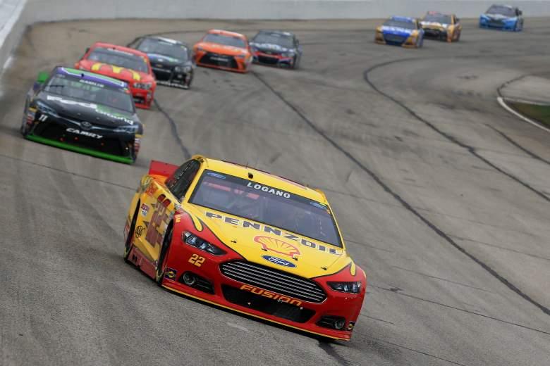 Joey Logano is the points leader after 2 races. (Getty)