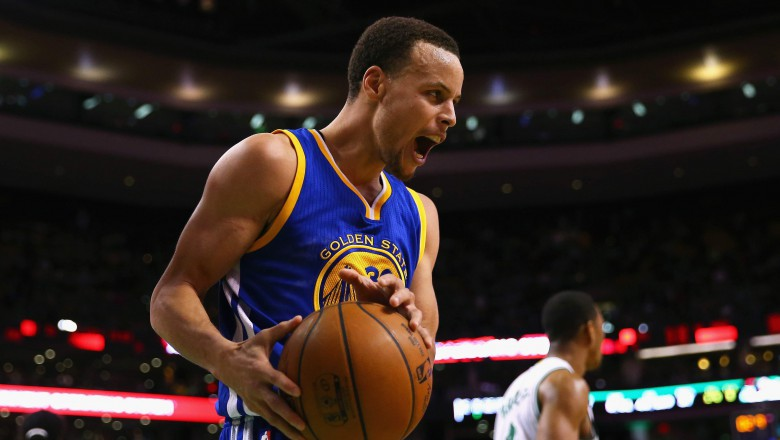 Stephen Curry and the Golden State Warriors will finish as the top team in the Western Conference. (Getty)