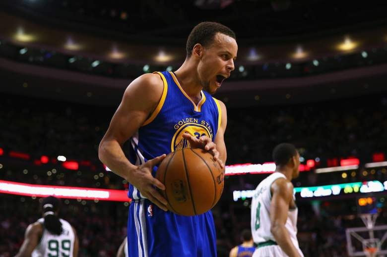 Stephen Curry and the Warriors host the Dallas Mavericks Friday night. (Getty)