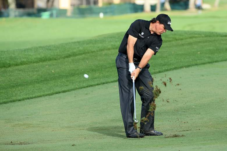Phil Mickelson heads a star-studded field at the World Golf Championships Cadillac Championship this weekend in Miami. (Getty)