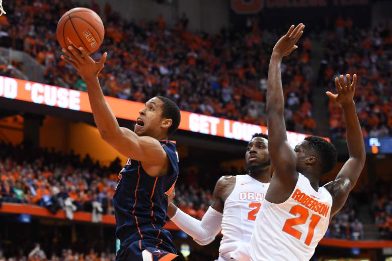 Malcolm Brogdon leads No. 1 seed Virginia into the ACC Tournament. (Getty)