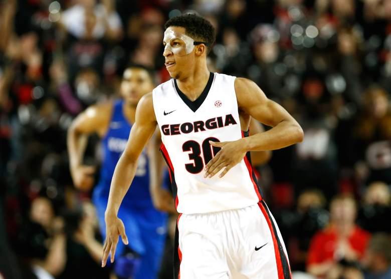 Georgia's J.J. Frazier. (Getty)