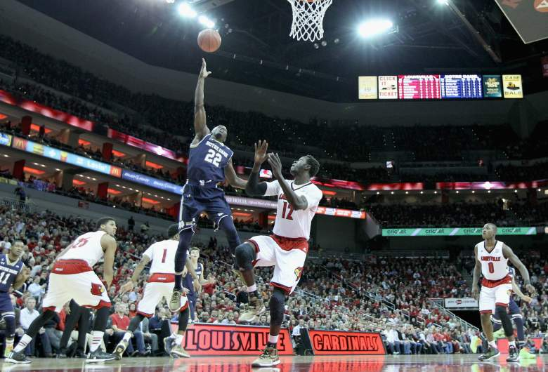 Jerian Grant makes a shot in a March 4th game against Louisville. (Getty)