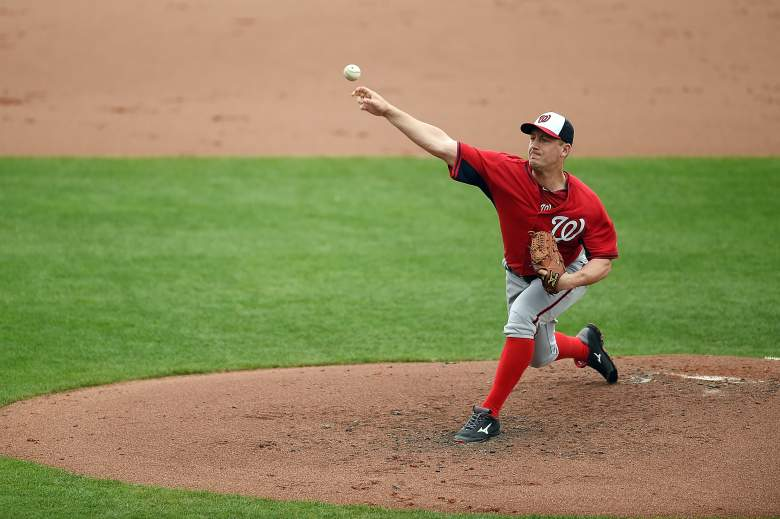 Jordan Zimmerman is part of a strong Washington Nationals rotation. (Getty)