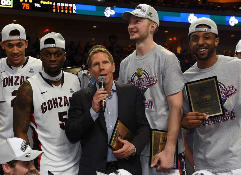 Gonzaga won the 2015 West Coast conference Championship. (Getty)