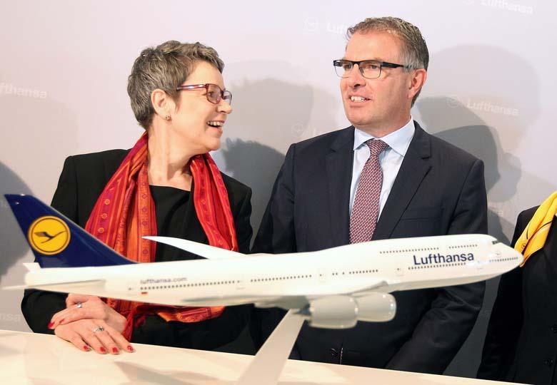 Carsten Spohr Simone Menne Lufthansa