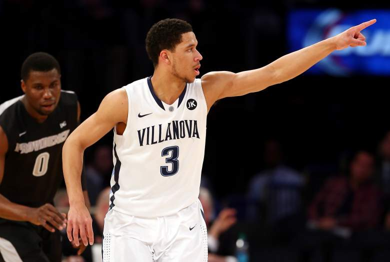 Villanova is the top seed ine East Region. (Getty)