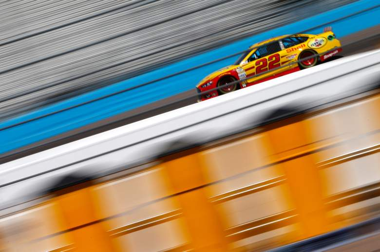 Joey Logano will start in the second position on Sunday. (Getty)