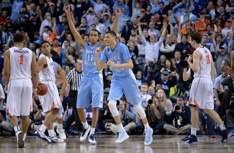 North Carolina made the ACC Tournament championship game, but fell to Notre Dame. (Getty)