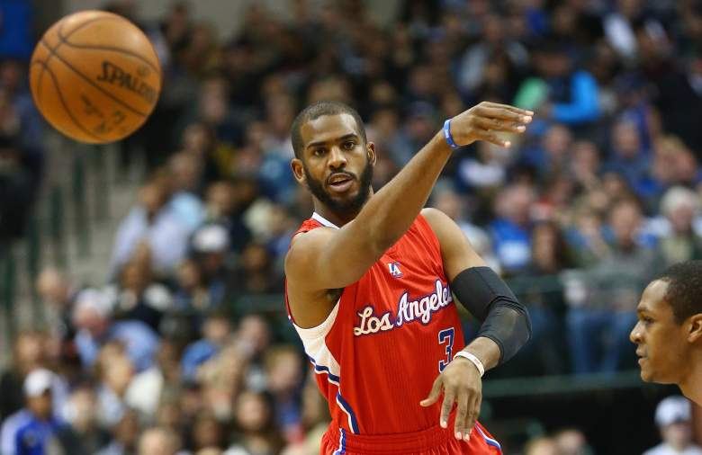 Chris Paul is the floor general for the Clippers. (Getty)