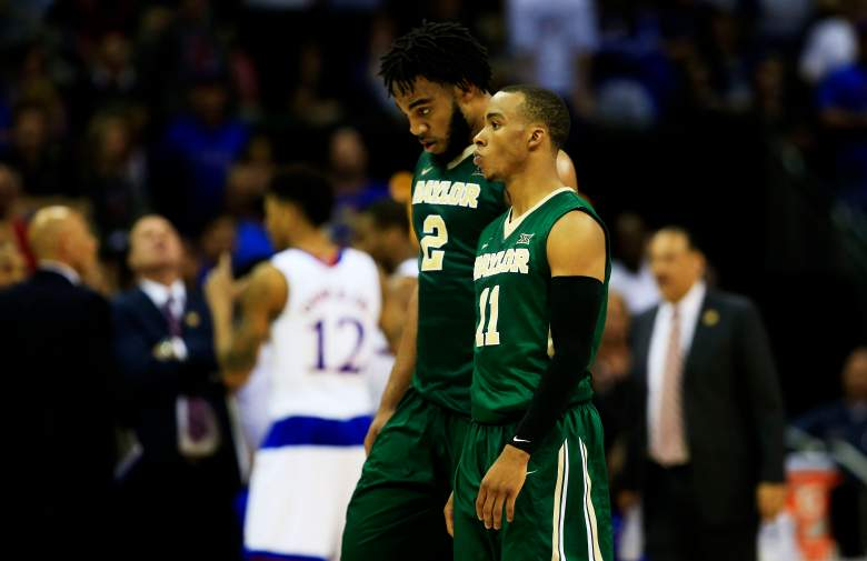 Baylor's Rico Gathers and Lester Medford. (Getty)
