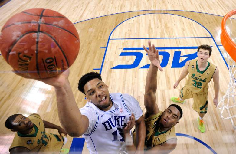 The sportsbooks expect Jahlil Okafor and Duke to win the South Region. (Getty)