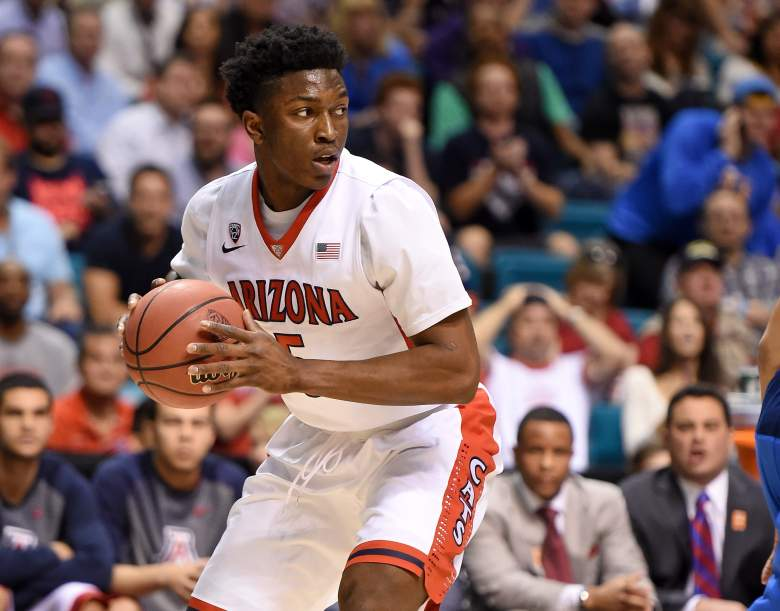 Stanley Johnson and Arizona grabbed the No. 2 seed in the West Regional. (Getty)