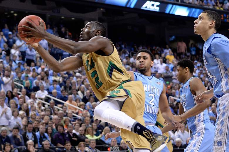 Jerian Grant attempts a layup against North Carolina in their 90-82 victory in the ACC Tournament Championship. (Getty)