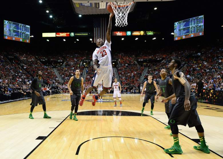 Rondae Hollis-Jefferson and Arizona are huge favorites over Texas Southern. (Getty)