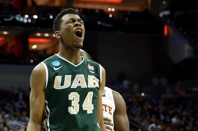 William Lee helped propel No. 14 seed UAB past No. 3 Iowa Thursday in the NCAA Tournament. (Getty)