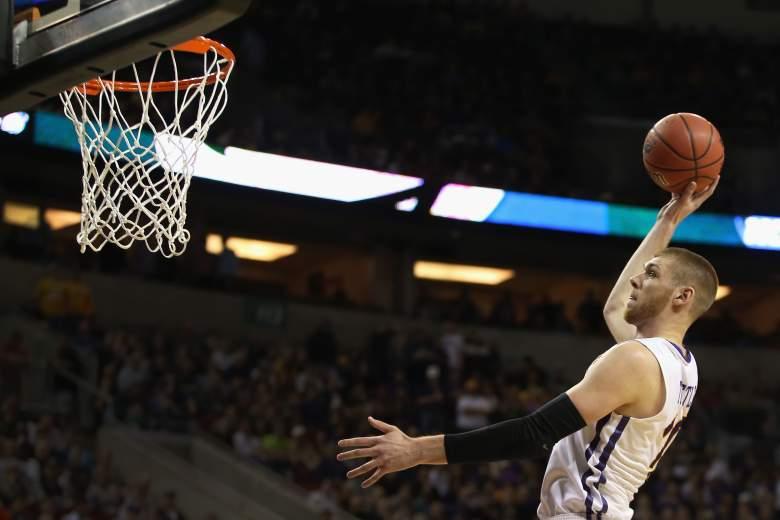 Seth Tuttle and Northern Iowa are slight underdogs vs. Louisville. (Getty)