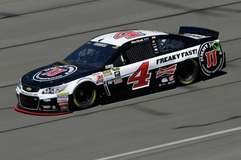 Kevin Harvick is looking for the NASCAR Goes West three-race sweep. (Getty)