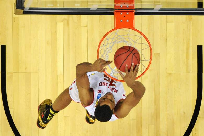 Despite a having the higher seed, No. Maryland is a slight underdog vs. No. 5 West Virginia. (Getty)