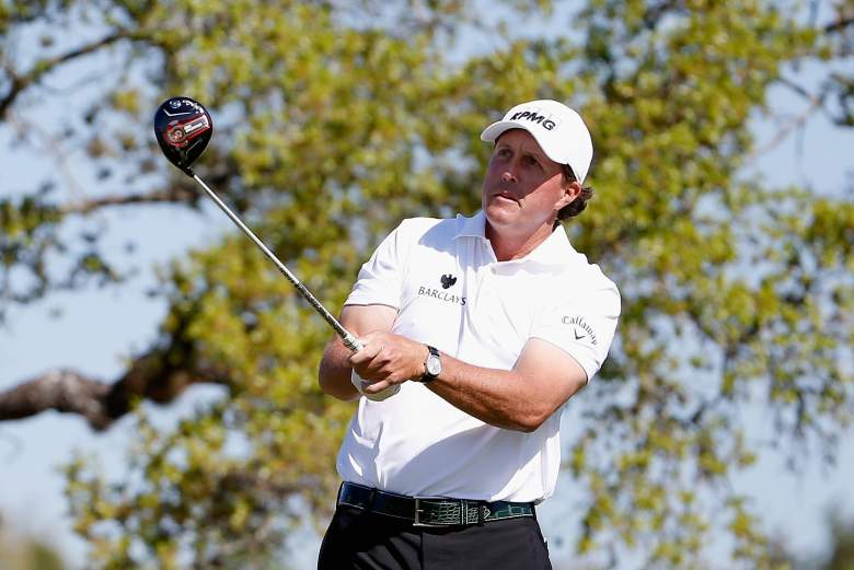 Phil Mickelson and the PGA Tour pros are in Houston for the final Masters tune-up. (Getty)