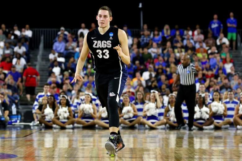 Kyle Wiltjer of Gonzaga. Getty)