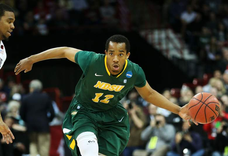 Senior guard Lawrence Alexander leads North Dakota State with 18.9 points per game. (Getty)