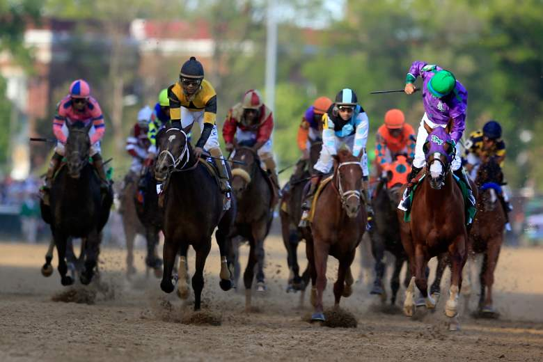 California Chrome won the 2014 running of the Kentucky Derby. (Getty)